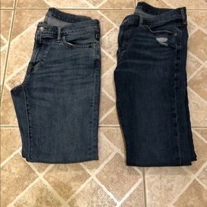 Men skinny jeans 30x30 from Abercrombie